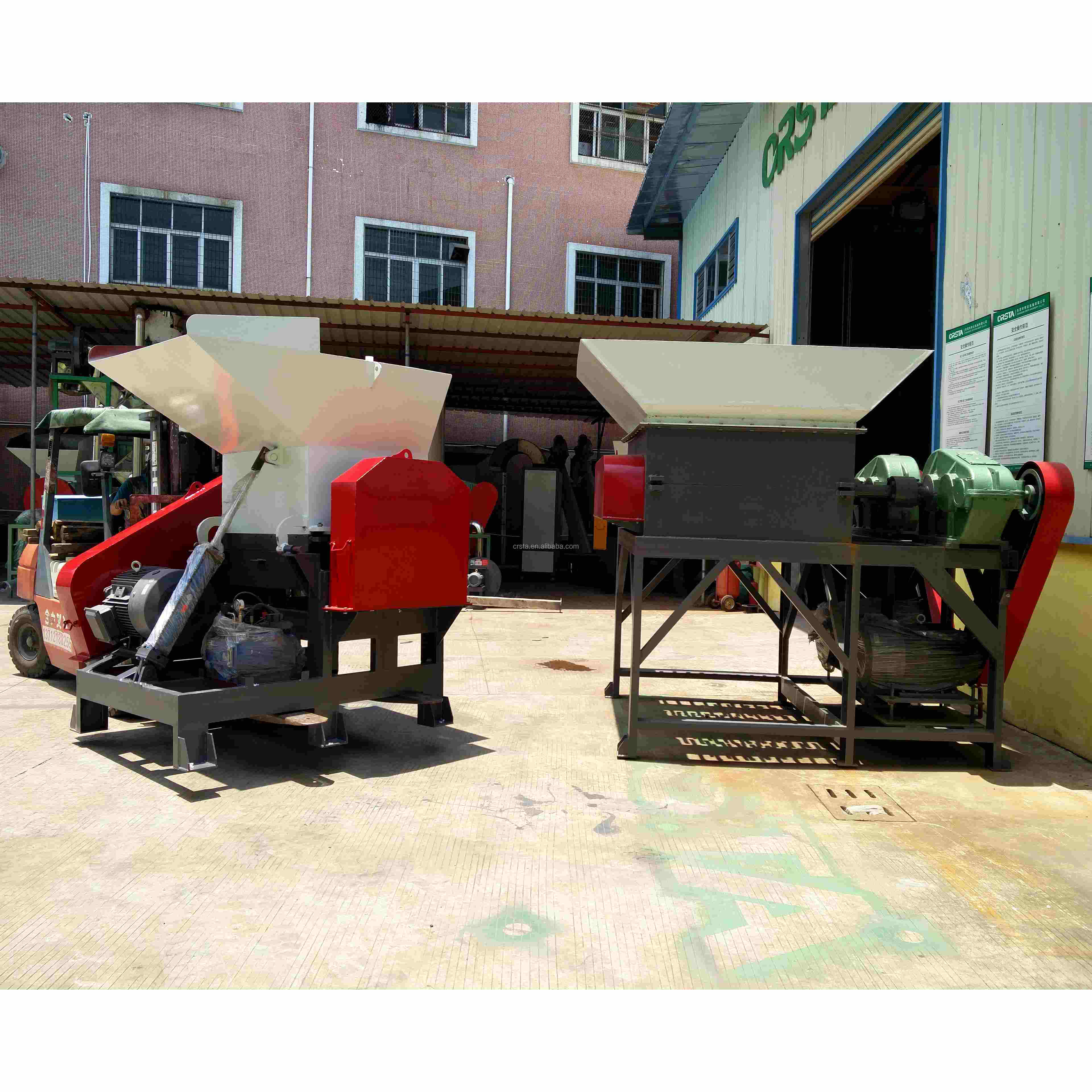 CRSTA  PET Bottle Bale Breaker/PET HDPE Bottle Bale Opener Machine