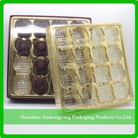 ECO Friendly disposable PP plastic biscuit divided tray