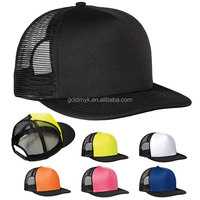 Custom Colorful Flat Brim Trucker Cap