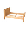 New fasion wood latest double bed designs furniture for European