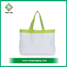 2017 Popular Wholesale 100% Organic Cotton Bag For Shopping