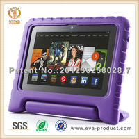 Purple Shock Proof EVA tablet Case for kindle fire hdx 7""