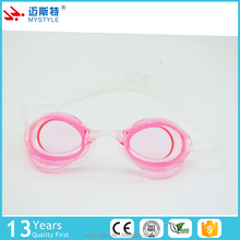 New wholesale chinese manufacture silicone swim gear goggles for adult