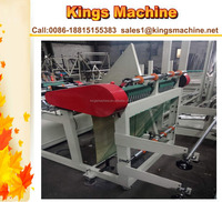 Microcomputer Control Plastic Arc Shaped Bag Making Machine(Kings brand)