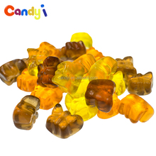 China manufacturer soft chew fruit candy butterfly shape gummy