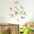 Easy Peel and Stick Solar System Nursery Wall Stickers,Luminous Glow in the Dark Stickers Wallpaper for Kids Room Decoration