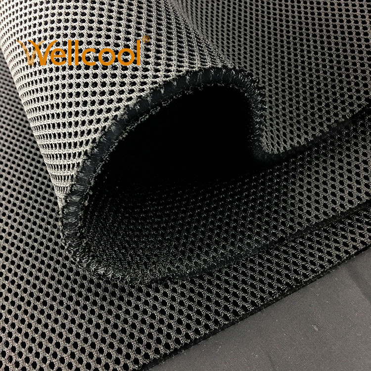 Eco safe 8mm breathable 3d air cool mesh fabric for military tactical body armor