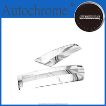 Factory price car parts chrome hatch door corner plate for Chevrolet Holden Captiva