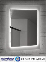 Wholesale Distributors LED Bathroom mirror with Touch Sensor
