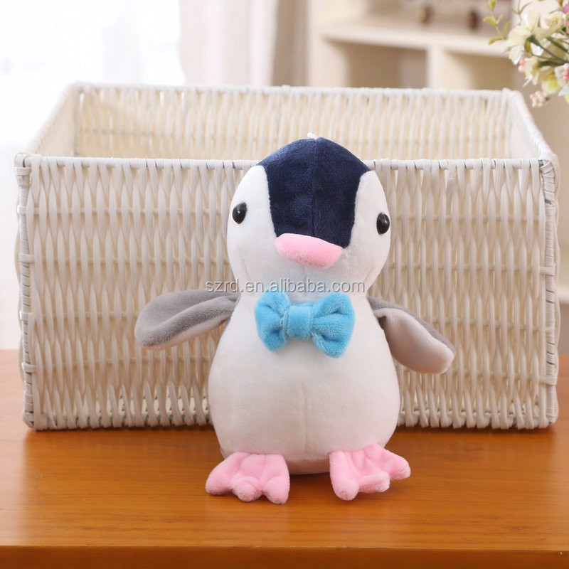Custom new stuffed animals penguin toys/electronic penguin toy/stuffed christmas penguin toy