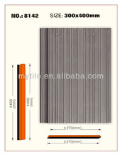 MY8124 light weight shake flat ceramic roof tile
