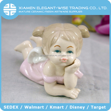 Beautiful souvenir cheap little ceramic baby fairy figurines