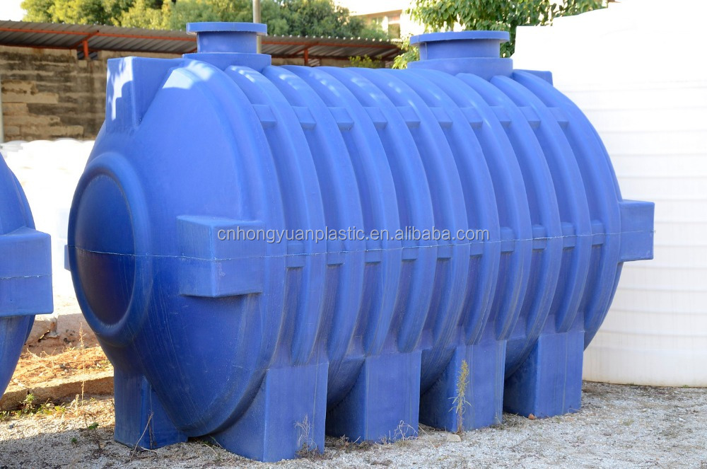 Rotomolded Plastic Septic Tank 5000l With 3 Chambers For