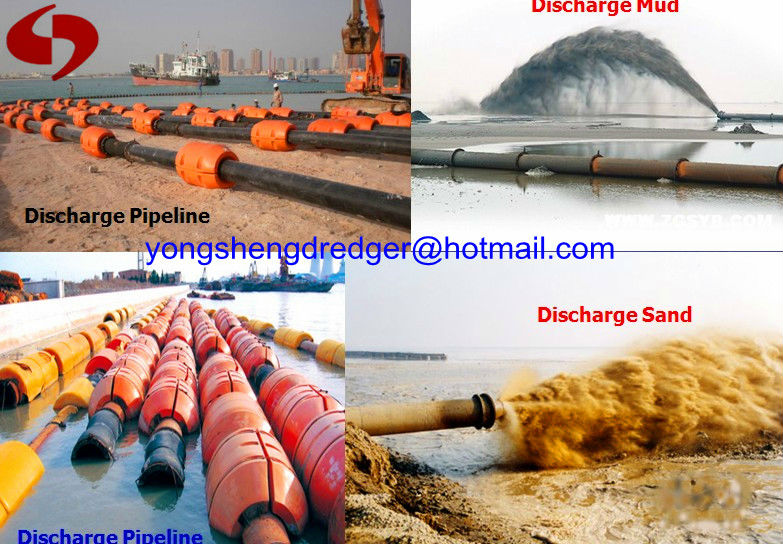 flexible rubber hose for dredging machine