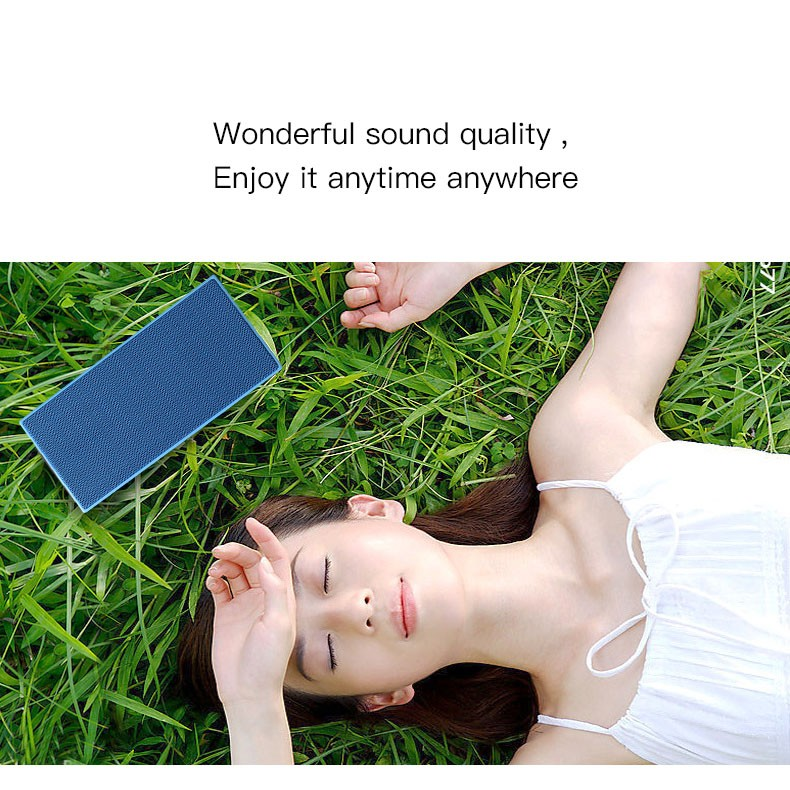 2017 New product portable power bank 4000mah with wireless bluetooth speaker