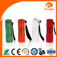 Colorful Cheap Bright Light Pocket Torch Light Small Led AAA TorchLight