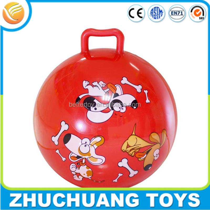wholesale pvc inflatable bouncing toy skippy ball hopper