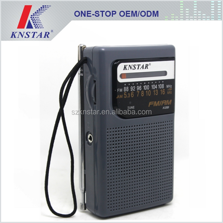 New model mini two band Chinese radio