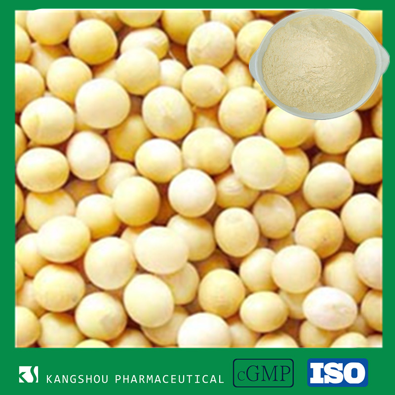 GMP factory women health and skin care 80% soy isoflavones soybean extract