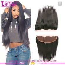 Factory Direct Supply Middle Part Brazilian Hair Swiss Frontal Lace Closure With Bundles
