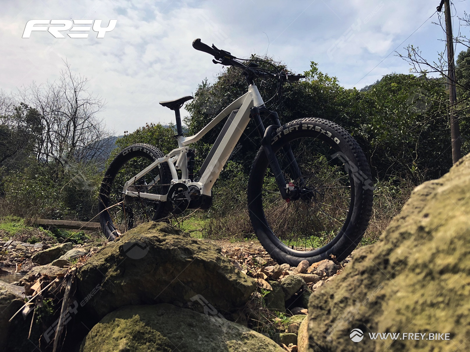 Bafang Ultra mid drive 48V 1000W full suspension electric mountain bike (e MTB)/electric bike 2017 Enduro electric bike.