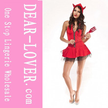 popular lovely red hot wholesale Devil Girl Costume