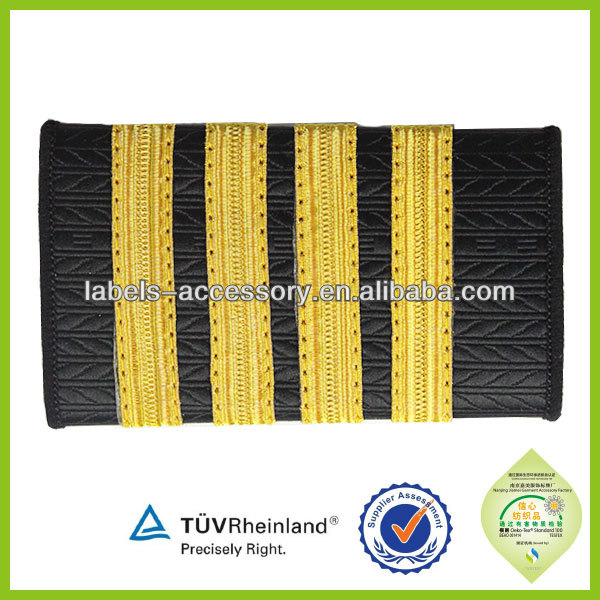 Army Uniform Shoulder Boards hand embroidery shoulder badge