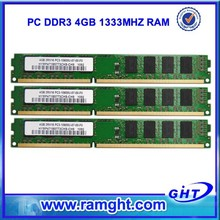 Long dimm ram 4gb ddr3 memory golden supplier