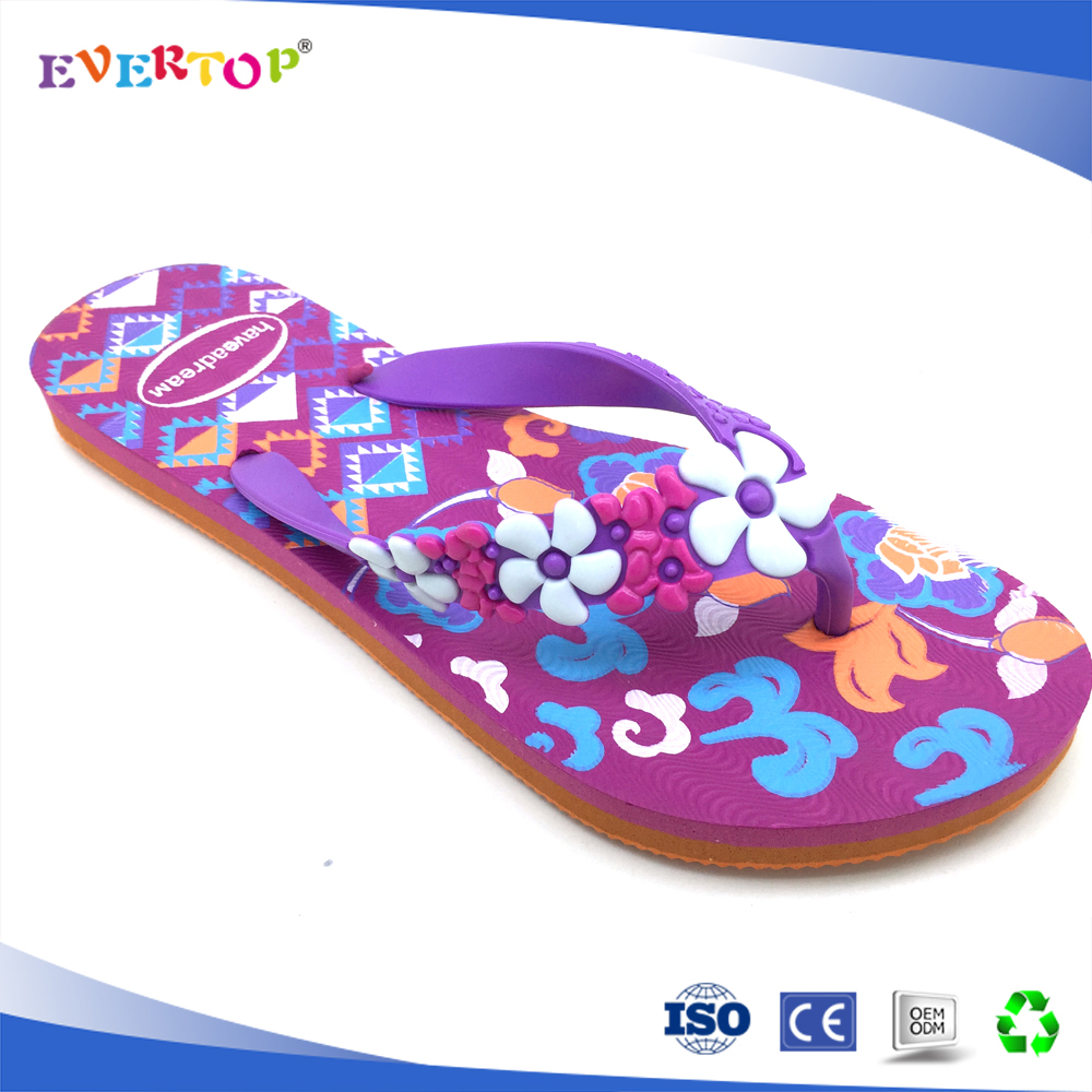 2017 summer beach lady shoes flip flops motorcycles