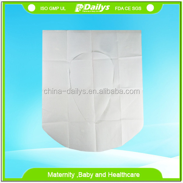 China Factory Wholesale Disposable Paper Portable Toilet Seat Cover