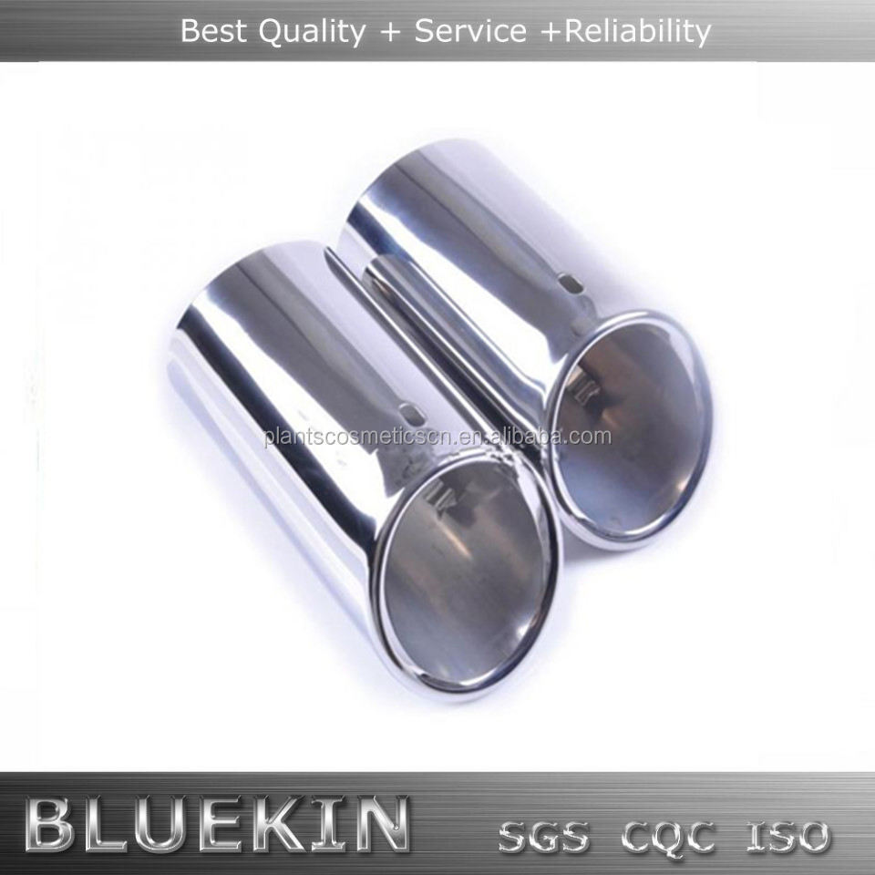 Round Single Stainless Steel Muffler and Exhaust Tips