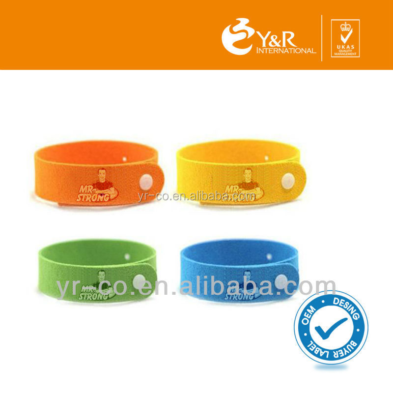 Free Sample Wholesale Anti-mosquitoes/Citronella Mosquito Repellent Bracelet/safe anti mosquito band