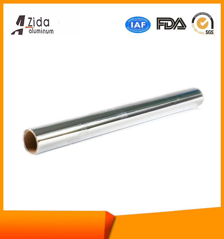 China gold supplier useful aluminum foil rolls coated pp lacquer