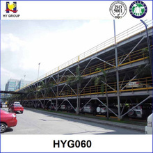 3 storey steel structure for car parking system