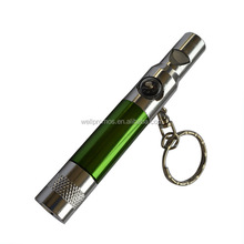3 in 1 cheap aluminum led flashlight with whisle and compass