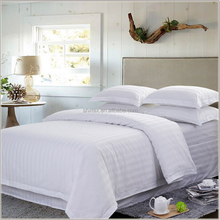 manufacture wholesale white polyester satin fabric for hotel bed sheet