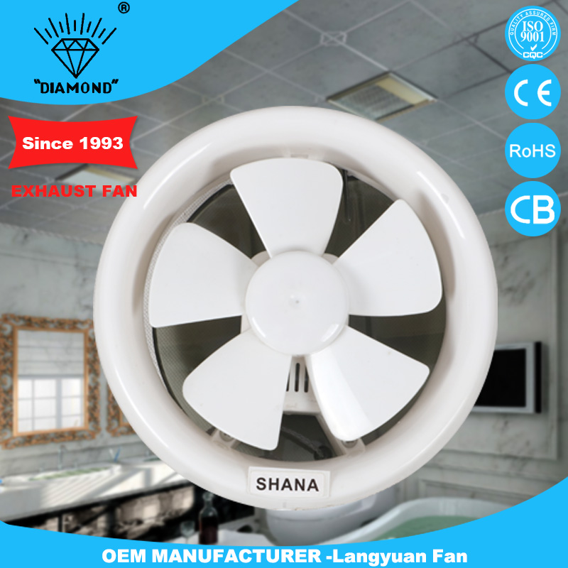 white round exhaust fan with long service life