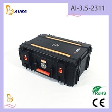 AURA AI--3.5-2311 Plastic Carrying Case Protective Shockproof Waterproof Medical Equipment Case