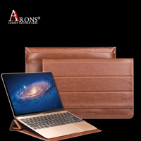 Luxury premium genuine leather case for macbook leather case