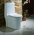 UF seat cover options one piece cyclone flush WC bidet holes inside bathroom ceramic toilet seat bidet