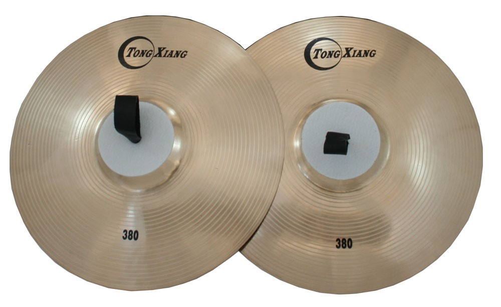 Orchestra cymbals marching cymbals 360mm marching cymbals