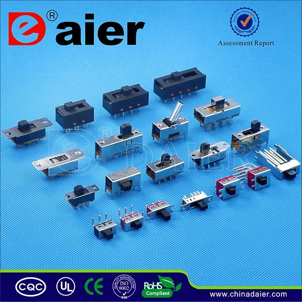 Daier 2 ways smt slide switch