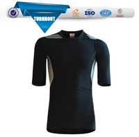 Latest design 100% polyester custom print running t shirt blank promotional