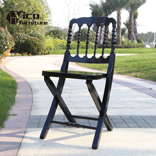 best price china manufacturer garden outdoor beech wood foldable napoleon chair for sale