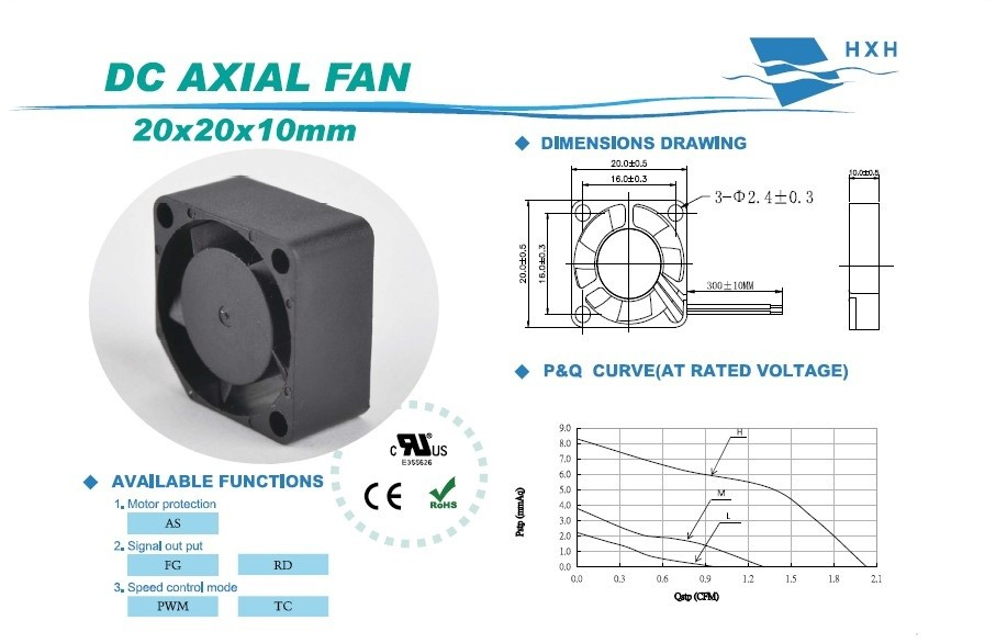 "1"" 2"" 3"" 4"" 5"" 6"" 5v 12v 24v 48v dc small cooling fan with size from 20mm to 254mm"