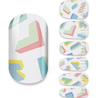 letter nail art high quality printing nail wraps manicure padicure