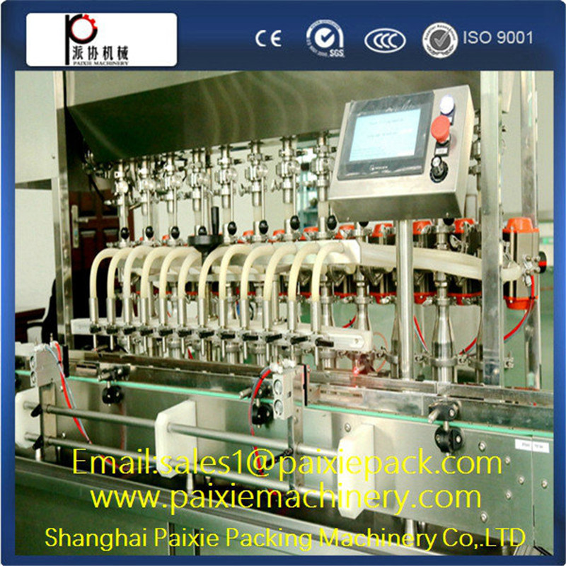 Semi-automatic heated mixing honey/butter/petroleum jelly filling machine