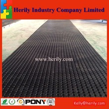 Waterproof Drainage Kitchen carport rubber flooring cover
