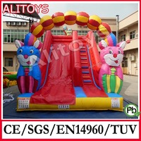 2014 new lovely arch door inflatable slide for sale