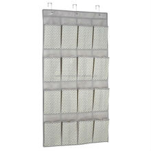 Door 12 porkets hanging cardboard shoe rack closet organizer wholesale